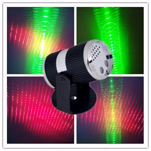 China Stage Lighting JO-MLS02  Mini green and red laser star projector with 3D outer space tunnel effect on sale