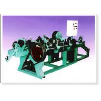 China Straight and Reverse Twisted Barbed Wire Machine on sale