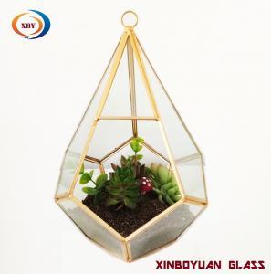 Wholesale Moq 20pcs Handmade Geometric Glass Plant Terrarium For