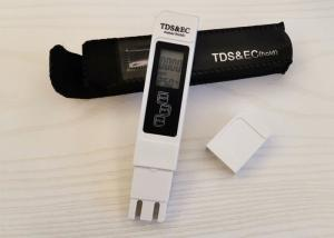 China Digital TDS EC Meter , Electrical Conductivity Meter Blue White Color on sale