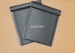 China Tear Resistant Metallic Bubble Envelopes Any Size Offset Printing Black on sale