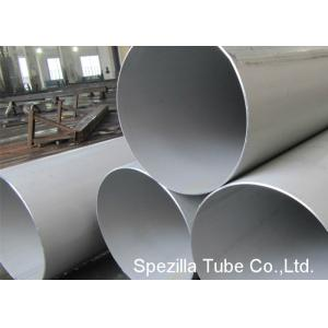 China ASME SA312 NPS 1/2-24 Welded Stainless Steel Tube TIG Pipe Grade TP321 304 316L on sale