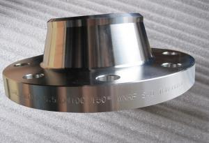 China Welding Neck Duplex Stainless Steel Flanges WN Flange EN 1.4547 254SMO on sale