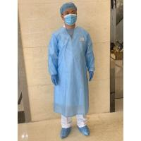 China Long Sleeves Protective Disposable Surgical Gowns , Non Woven Surgical Gown on sale