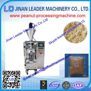 China Automatic high speed peanut vacuum package machinery for peanuts paste 150-400kg /h on sale