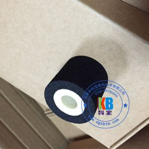 China Manufacture date batch number stamping  35mm*30mm solid hot ink roller for coder machine on sale
