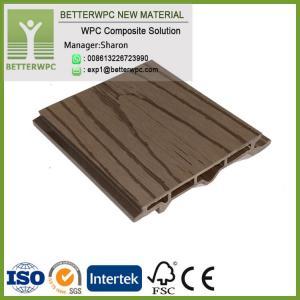 China China Fireproof Flameproof Composite Planks Interlocking Wood Plastic Waterproof WPC Wall Panel on sale