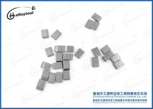 China YG6/YG8/YG8C Sintered Tungsten Carbide Saw Tips Nickel Coated For Wood Cutting on sale
