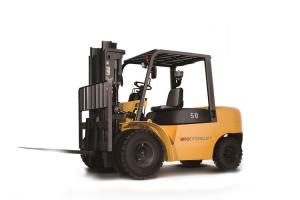 China Toyota Used 7 Ton Diesel Forklift Truck With Japanese Engine Standard on sale