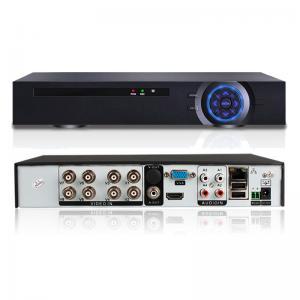 China 1 * 4 SATA HDD 8 Channel Hybrid Dvr , Security Cctv Dvr Recorder H.264 NVR on sale