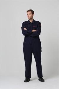 China EN11611 Flame Retardant Workwear 350g Flame Retardant Overalls on sale