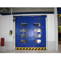 Porte automatique à grande vitesse bleue de roulement des portes de roulement de PVC/PVC pour l