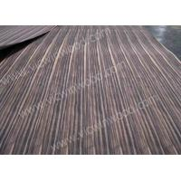 China Natural Fleeced Spliced Ebony Wood Veneer Sheet From China Manufacturer on sale