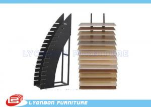 China Durable Black OEM MDF Display Rack / Floor Dipslay Present For Shopping Center on sale