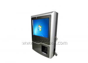 China All In One PC Wall Mount Kiosk With NFC Card Reader And Printer on sale