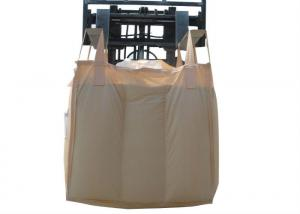 China UV Treated FIBC Bulk Bags , 100% Virgin Polypropylene Large Woven Bag on sale