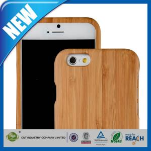 China Dustproof Snap on design Wood Cell Phone Cases Protective Skin Back Shell , iPhone 6 4.7 Case on sale