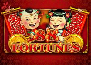 China 88 Fortunes Jackpot Slot Video Machine Metal Cabinet With LG / Samsung Screen on sale