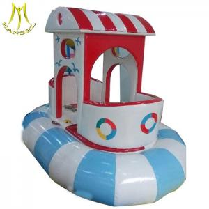 China Hansel   cheap indor spinning playground equipment  child electronic games ship on sale