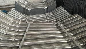 China Galvaninzed Plate Expanded Metal Grating Stainless Steel Rib Lath 5mm Rib Height on sale