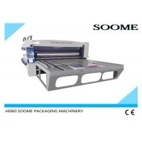 2 Color Rotary Die Cutting Machine Custom External Diameter For Corrugated Creasing Slotting