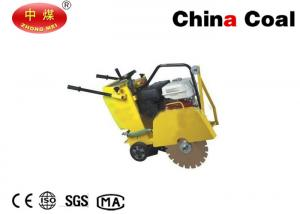 China Roa Construction Machinery Q350 100mm Walk Behind Concrete Cutter on sale