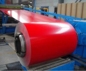 China Alloy 1050 1060 Decorative Aluminum Coil Color Coated for wall cladding / facade on sale