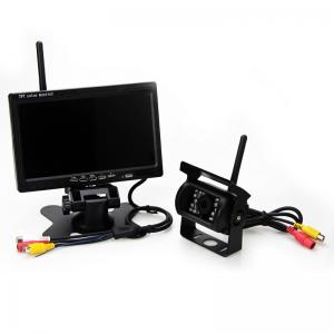 China 7 Inch Backup Camera Kit Wireless Security Camera Automatic Operation on sale