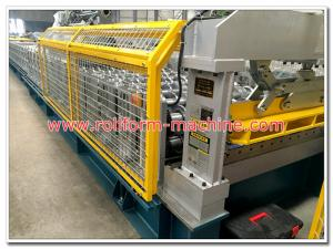 China Trapezoidal Profile Widespan Steel Roof Sheeting Making Machine, Metal Rollforming Production Line on sale