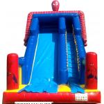 Blue And Red PVC  Spiderman Kid Giant Inflatable Slide For Sale Inflatable Slide
