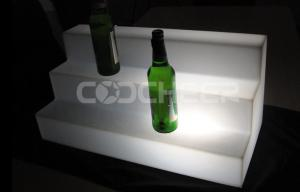 China Fashion Ice Bucket bar nightclub furniture Led Lighting Bottle Shelf on sale
