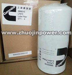 China Cummins Engine Spare Parts Filter LF670 on sale