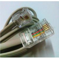 China RJ45-RJ11 Cat5e Patch Cords 2cores Copper 24awg Patch Cables Networking Voice Patch Cordy on sale