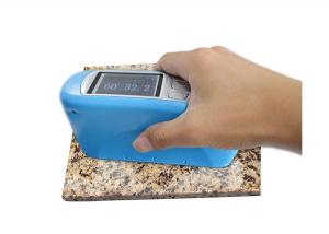 China Stone Floor Polishing Portable Gloss Meter 60 Degree With Elastic Material on sale