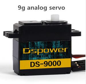 China Black 9g Analog RC Servo for Toy / Hobby , 22.9x12x27.3mm or 0.9x0.48x1.07 inch on sale