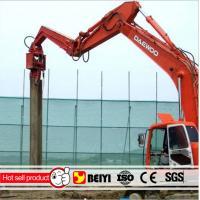 China BUY BEIYI V250D V330 V350 sheet  Pile Hammer Hydraulic Vibratory Pile Driver manufacturer on sale