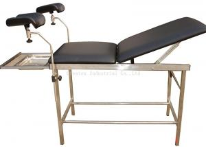 China Light Gynecology Exam Chair , Gynae Examination Beds Stainless Steel Frame on sale