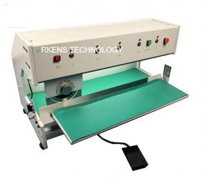 China Motorized Type PCB V Cut Machine , V Scored PCB Separating Machine 220V/110V on sale