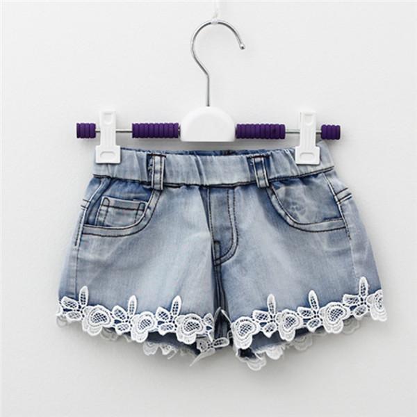 Детские шорты джинсовые для девочек