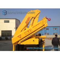 China 10 Ton Folding Arm Crane Mounted Truck , SQ10ZA3 Knuckle Boom Truck on sale