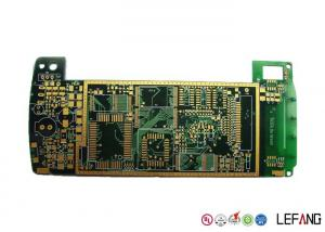 China Halogen Free 6 Layer High Speed PCB , Industrial Circuit Board ENIG Surface Treatment on sale