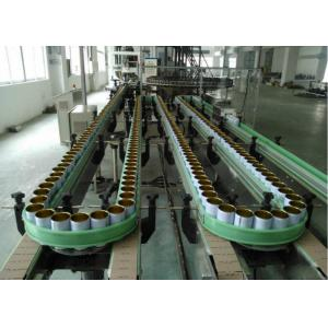 China Three Piece Tin Can Production Line Fully / Semi Automatic 200-1000 Cans Per Hour on sale