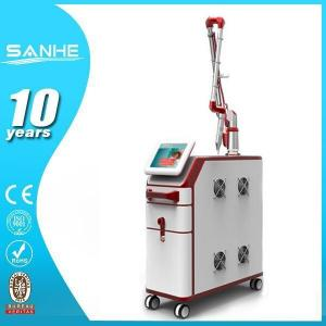 China Q-switch nd yag laser for yellow, red, brown tattoo ,lip color removal on sale