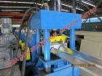 W rayonnent la glissière de sécurité/le petit pain rambarde de route formant la machine avec le perforateur/coupeur