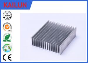 China Sliver Anodized Industrial Aluminium Profiles , High Power Extruded Aluminum Heat Sink Enclosure on sale