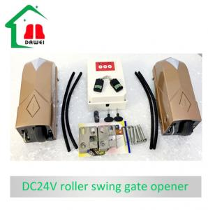 China DC24v  Single  door 180  degree  opener  door motor double door operator on sale