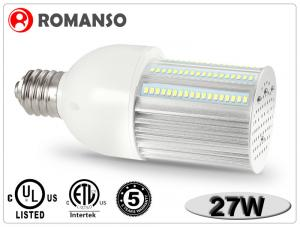 China 27W Durable Outdoor IP65 Corn LED Lights Street Bulb , Led 110v Light Bulb on sale