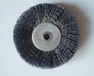 China Steel wire circular brush for industry use(MODEL#HYCN0114) with good quality on sale