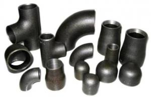 China WPB A234 Seamless Elbow / Tee / Reducer Carbon Steel Pipe Fittings on sale