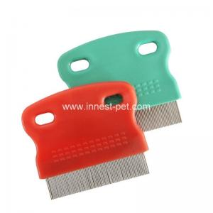 China wholesale stainless pin pet grooming dog comb of stable quality on sale
